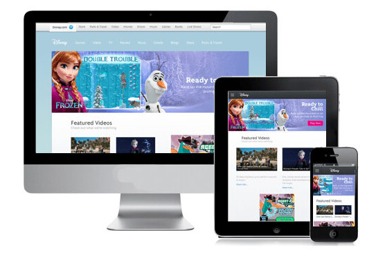Disney has created the right omnichannel experience with its beautiful, mobile-responsive site. Their trip planning site allows you to select the details of your visit to the theme park