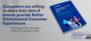 MoEngage Research Reveals Global Consumers Want More Personalization from Brands
