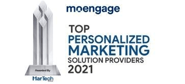 MoEngage Named a Top Personalized Marketing Solution Provider 2021 by MarTech Outlook Magazine